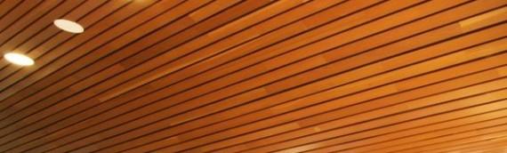 Techos de madera para tiendas de lujo