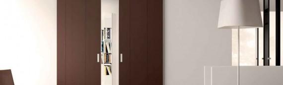 Puertas correderas de madera, una solución cómoda