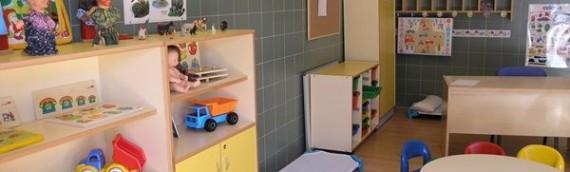 Instal·lació de parquets per escoles bressol