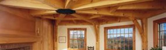 Techos y paredes de madera, tendencia