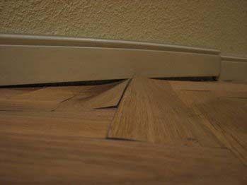 Se ha mojado mi parquet parquets tejada - Como poner suelo laminado ...